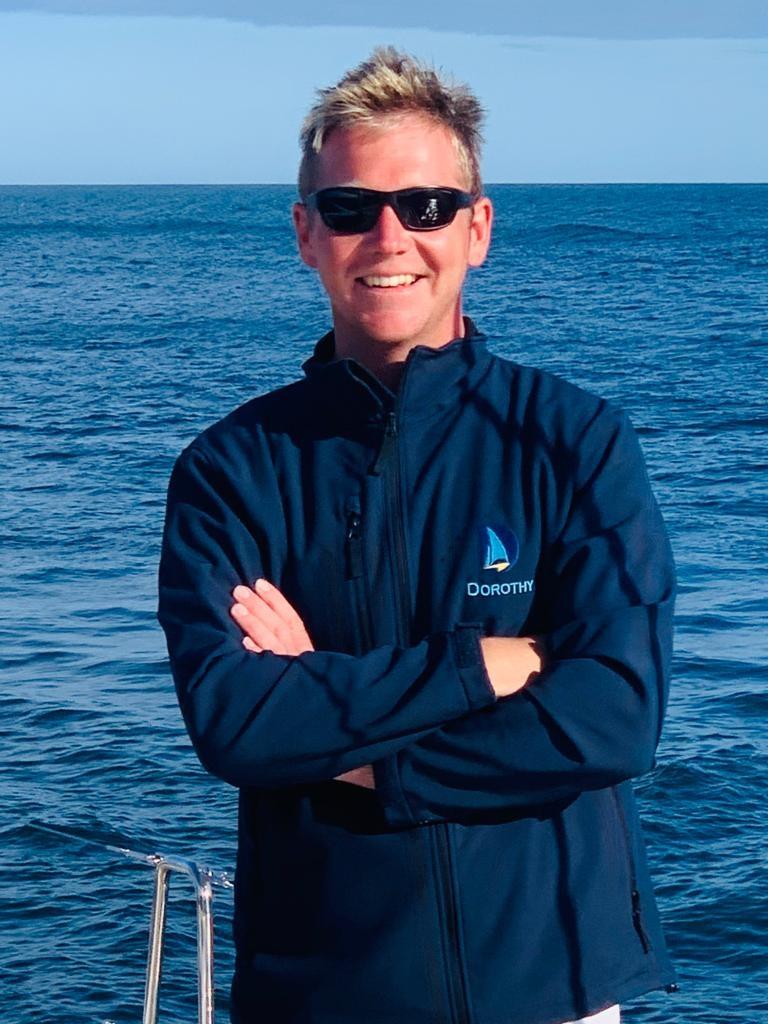 Alex Spence, yacht rigger